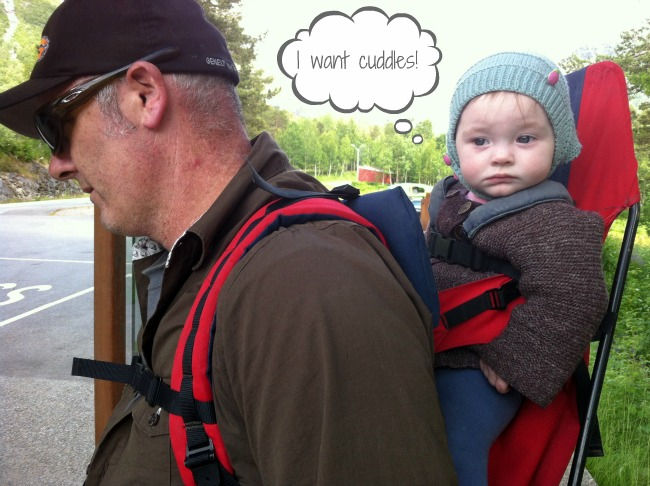 Up, Up We Go: Hiking with a Baby - Destination Unknown