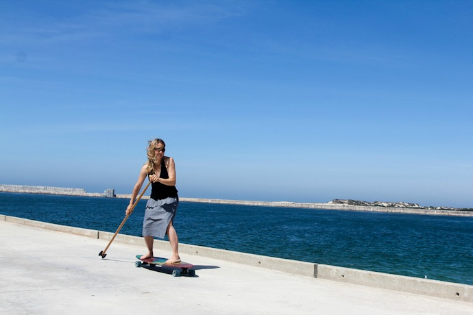 Street SUP in Portugal I @SatuVW I Destination Unknown